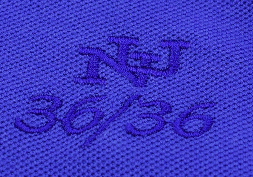 同系色の刺繍